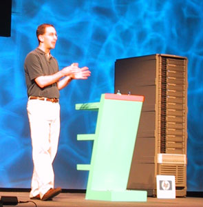 Scott Guthrie at TechEd Europe 2004