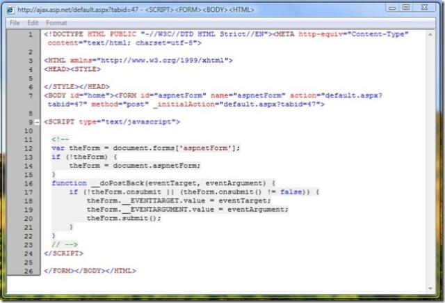 IE Developers Toolbar