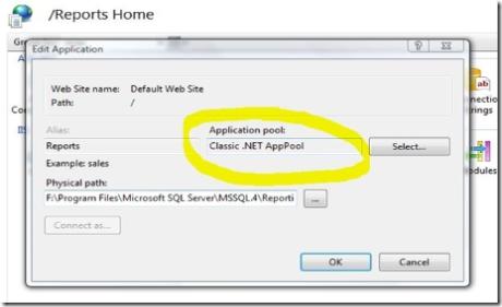 SQL 2005 RS Vista
