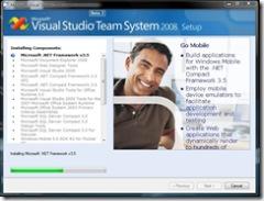 VS2008 Beta 2  install 1